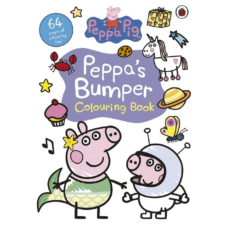 Peppa Pig Bumper Colouring Book, , hi-res image number null