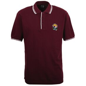 Schooltex Huia Range Short Sleeve Polo with Embroidery