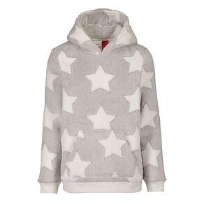 H&H Kids' Coral Fleece Star Top
