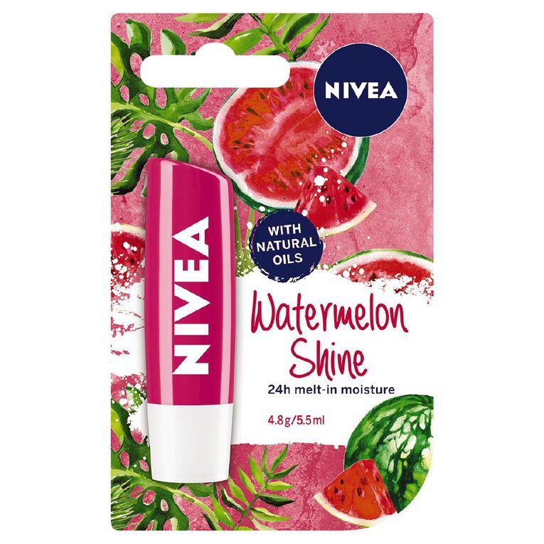 Nivea Lip Balm Watermelon 4.8g, , hi-res