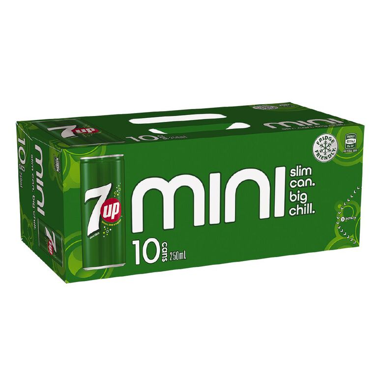 7up Minis 250ml 10 Pack, , hi-res