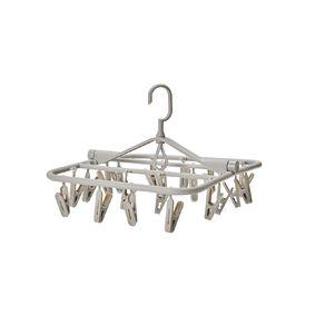 Living & Co Peg Hanger Charcoal
