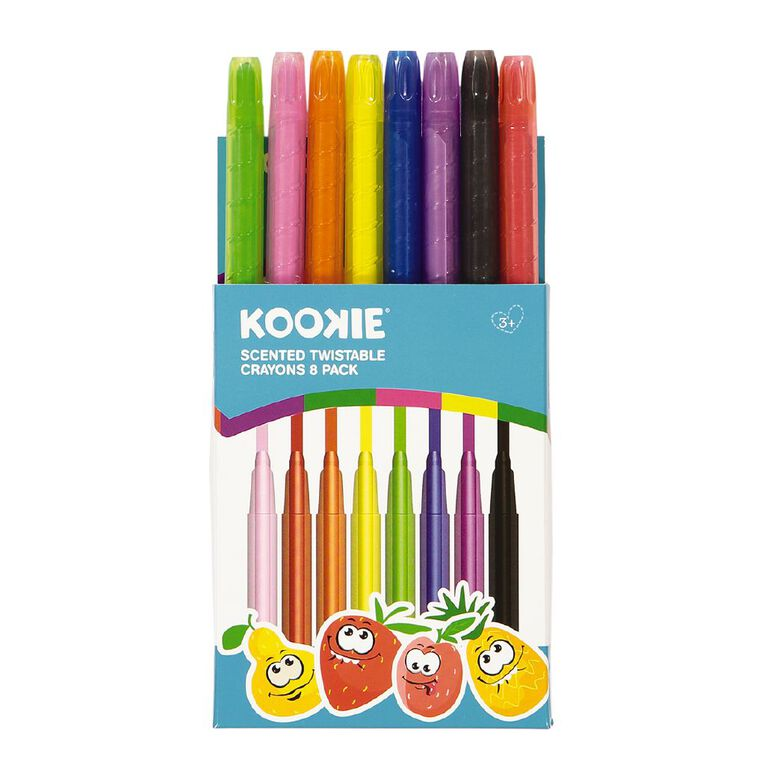 Kookie Scented Twistable Crayons 8 Pack, , hi-res image number null