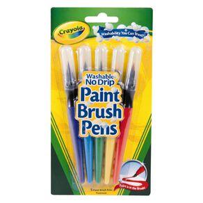 Crayola Washable Paint Brush Pens 5 Pack