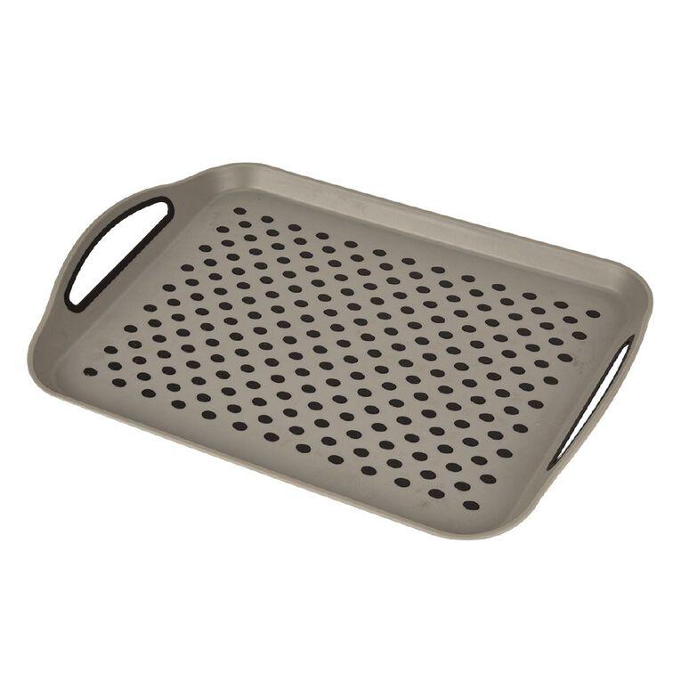 Living Essentials Silicone Serving Tray Nonslip, , hi-res