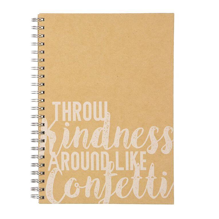 Uniti Fun & Funky Kindness Natural A4, , hi-res