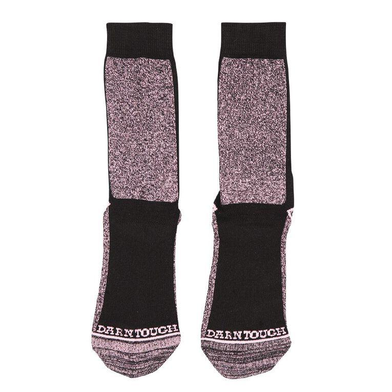 Darn Tough Women's Utility Crew Socks 2 Pack, Pink, hi-res