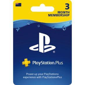 Sony PlayStation Plus 3 Month Membership