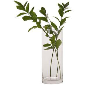 Living & Co Column Vase Clear 30cm