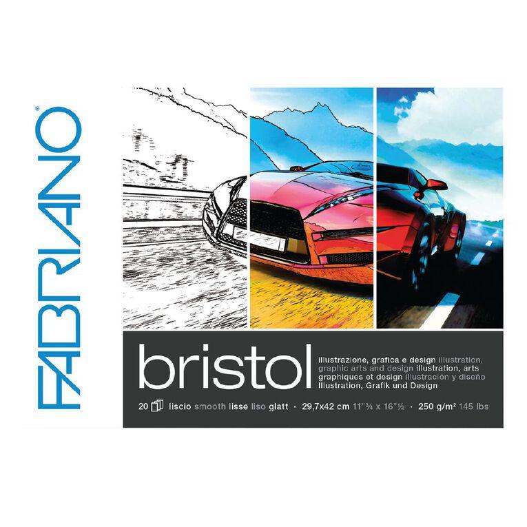 Fabriano Bristol Pad 250gsm A3, , hi-res
