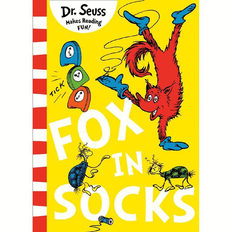 Fox In Socks by Dr Seuss N/A, , hi-res