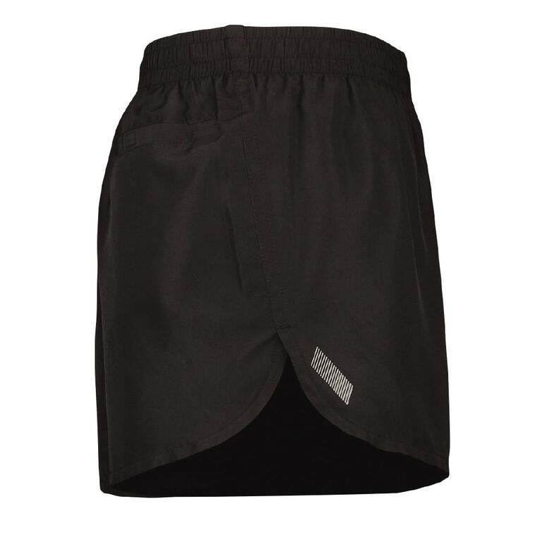 Active Intent Men's Running Shorts, Black, hi-res image number null
