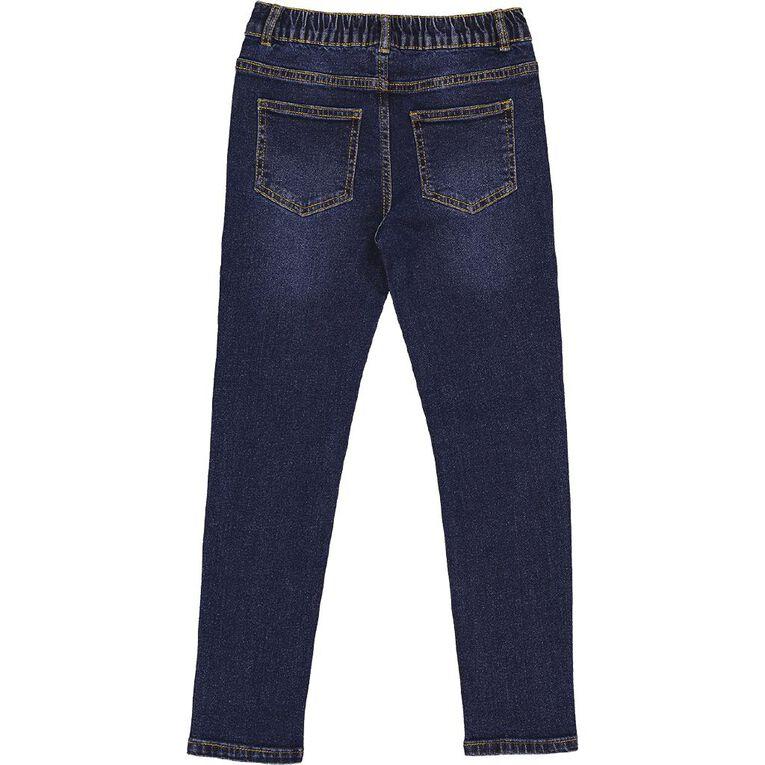Young Original Slim Stretch Jeans, Blue Mid, hi-res