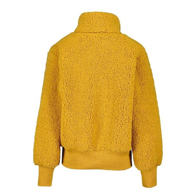 Young Original Sherpa Crop Jacket, Yellow Dark, hi-res