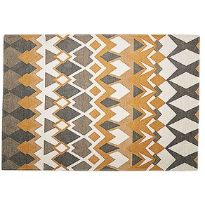 Living & Co Casablanca Woven Area Rug Natural 160cm x 230cm