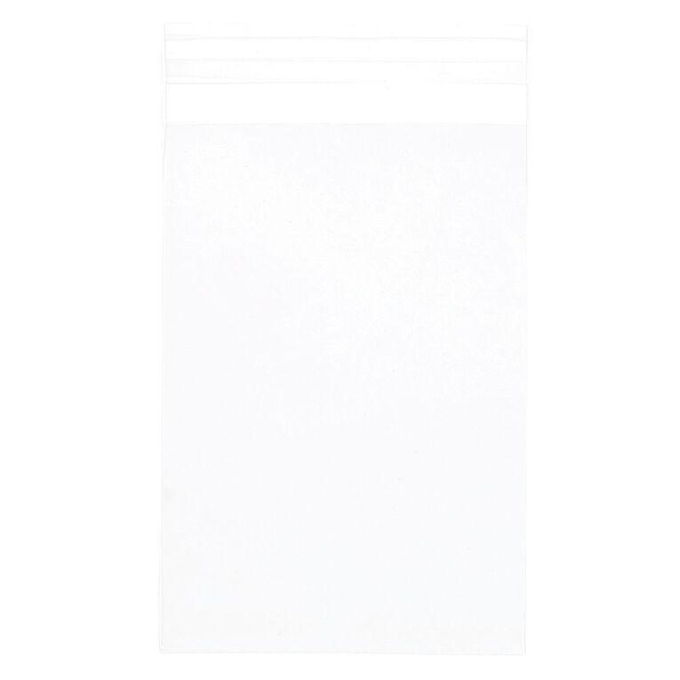 Uniti Polybag Sleeve 10cm x 15cm 50 Pack, , hi-res
