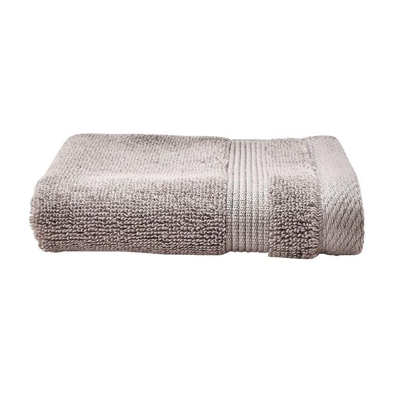 Living & Co Hotel Collection Face Towel Grey Light 30cm x 30cm, Grey Light, hi-res
