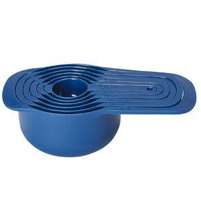 Living & Co Measuring Cup Set Blue 6 Pack