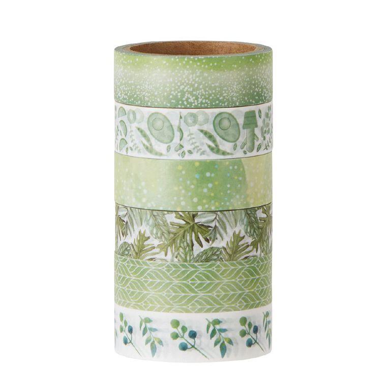 Uniti Washi Tape 6 Pack Botanical, , hi-res