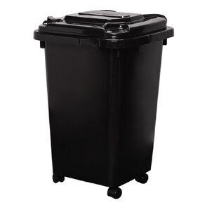 Living & Co Wheelie Bin Black 32L