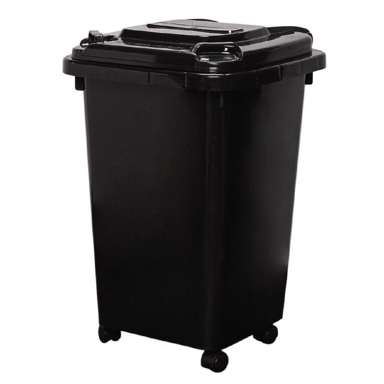 Living & Co Wheelie Bin Black 32L, , hi-res