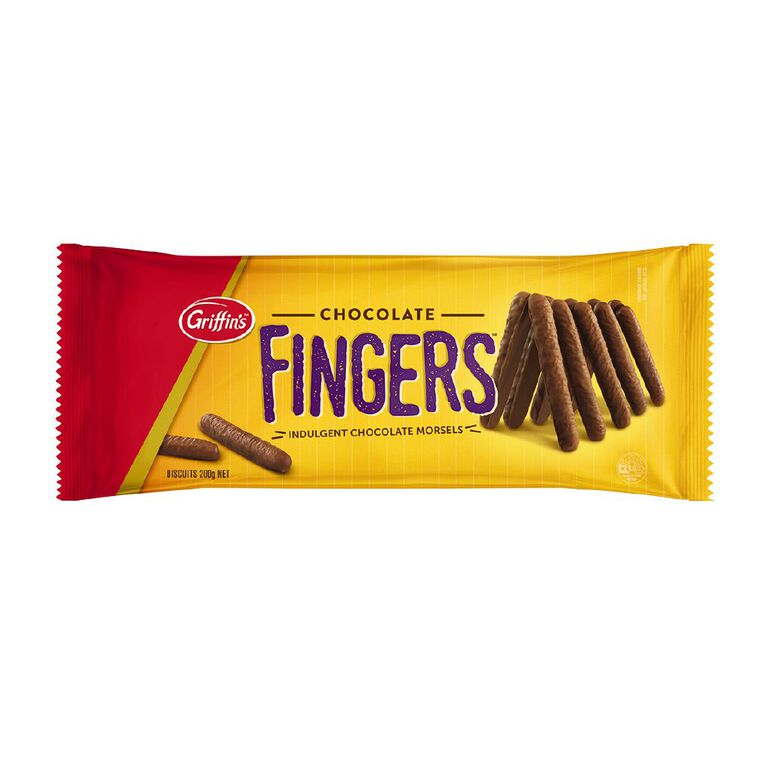 Griffin's Chocolate Fingers 180g, , hi-res