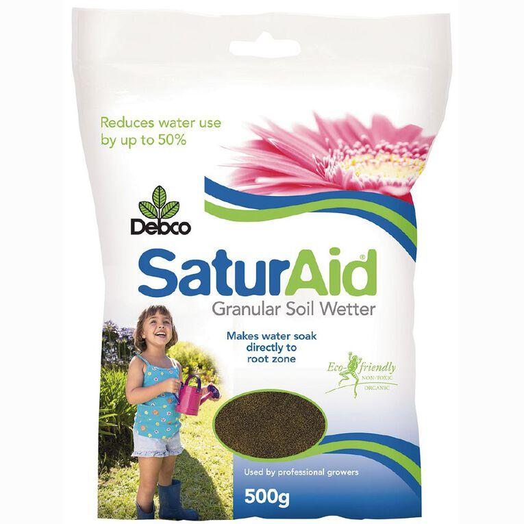 Debco Saturaid Granular Soil Wetter Resealable Pack 500g, , hi-res