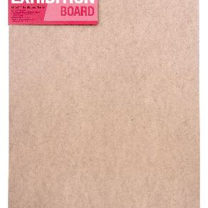 DAS Exhibition 2in Hardboard 18 x 24in Brown