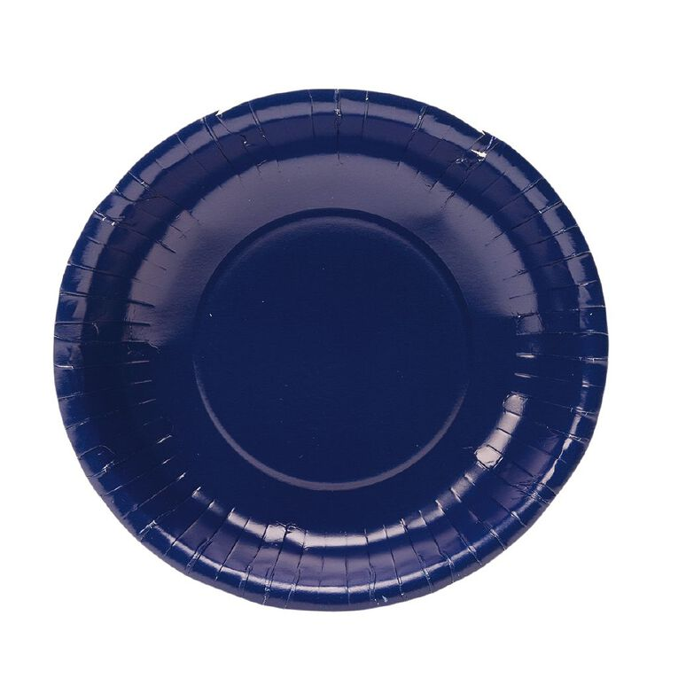 Party Inc Paper Dessert Bowls 18cm Royal Blue 20 Pack, , hi-res
