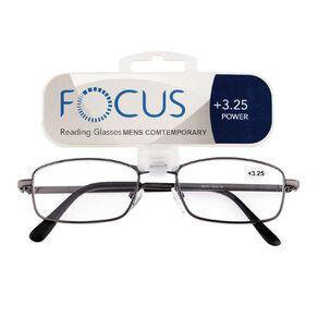Focus Reading Glasses Men's Contemporary 3.25