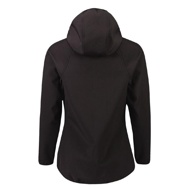 Active Intent Women's Bonded Drop Hem Jacket, Black, hi-res