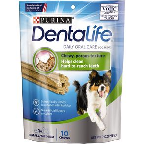 Purina Dentalife Dog Dental Snacks Small/Medium 198g
