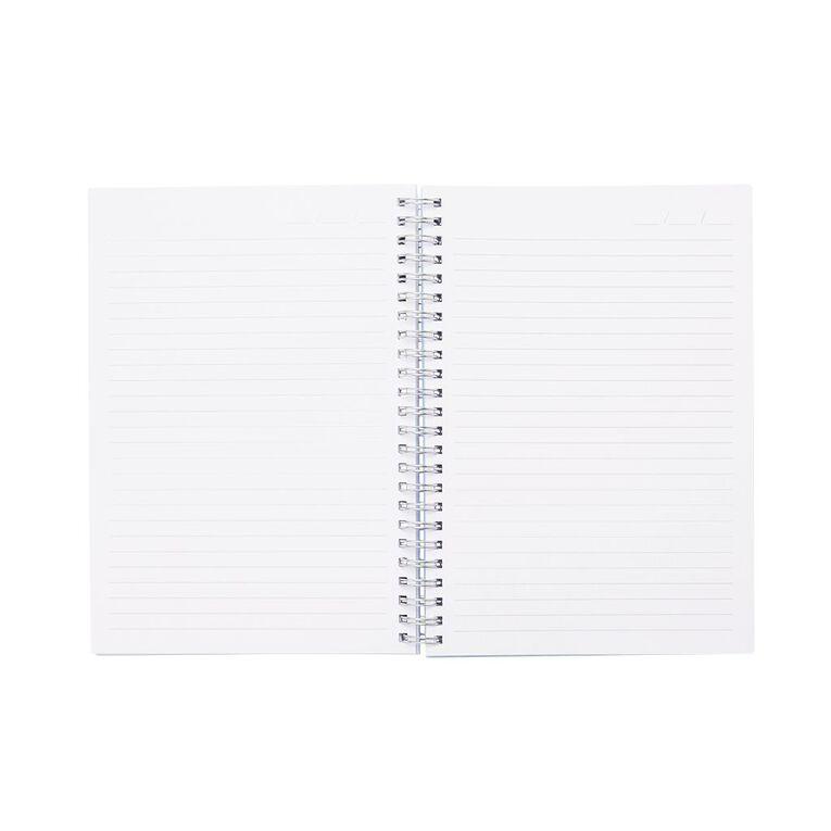Uniti Colour Pop Notebook Hardcover Blue Light A5, , hi-res