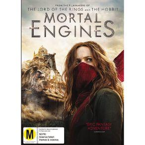 Mortal Engines DVD 1Disc
