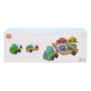 Play Studio Wooden Mega Car Carrier
