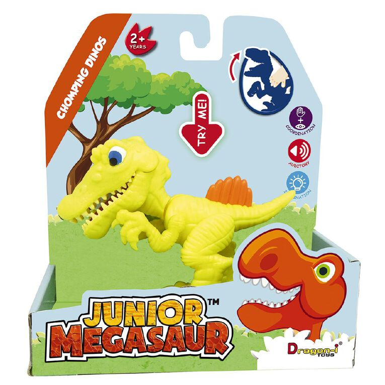 Junior Megasaur Chomping Dino 3 Assorted, , hi-res