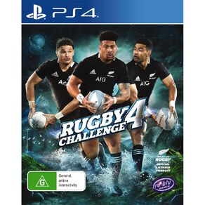 PS4 All Blacks Rugby Challenge 4