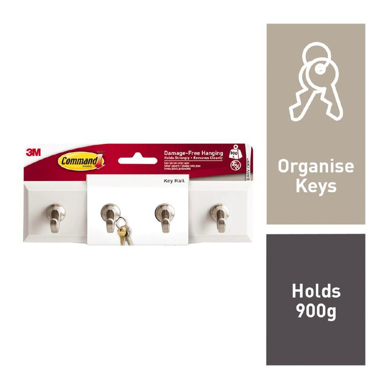 Command Quartz Key Rail, , hi-res