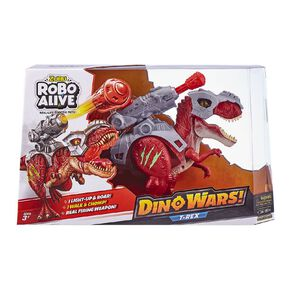 Zuru Robo Alive Dino Wars Series 1 T-Rex Assorted