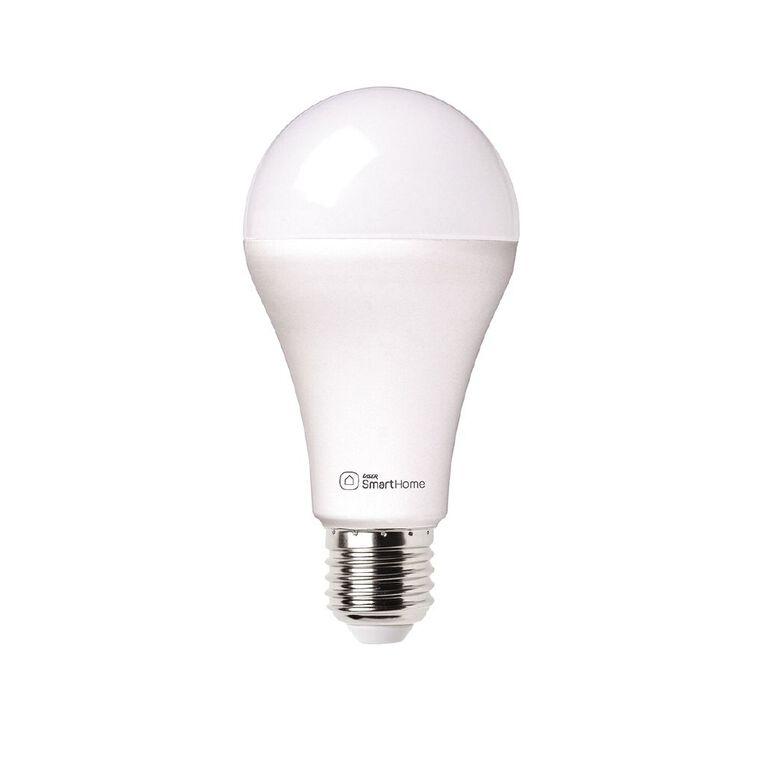 Laser Smart Home WiFi Lightbulb 10W LED E27 Screw In White, , hi-res