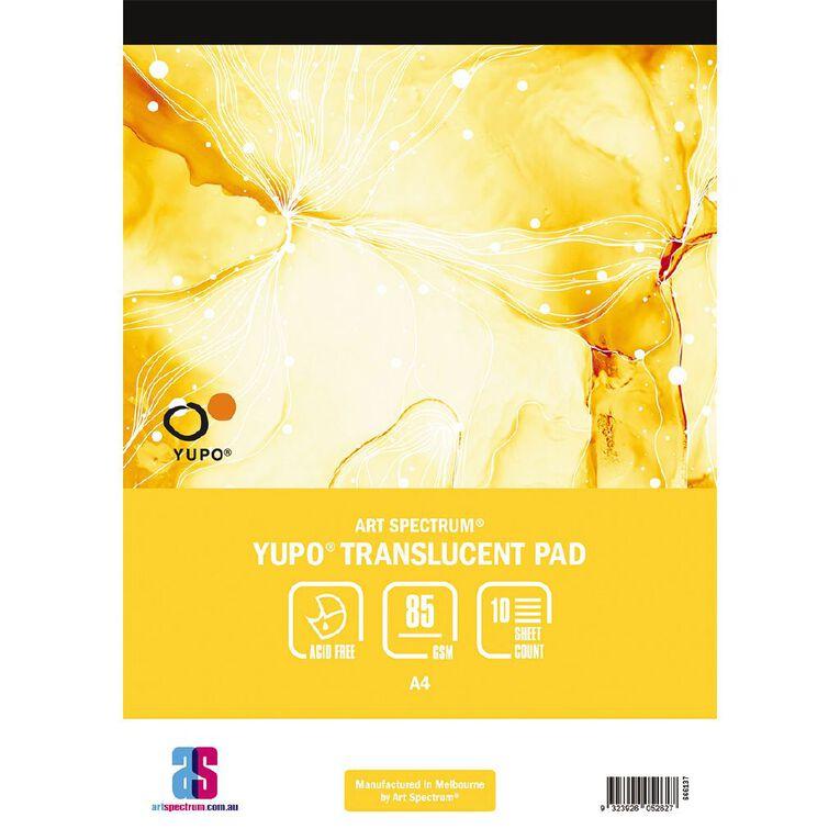 Art Spectrum Yupo Pad 85g 10 Sheets A4, , hi-res