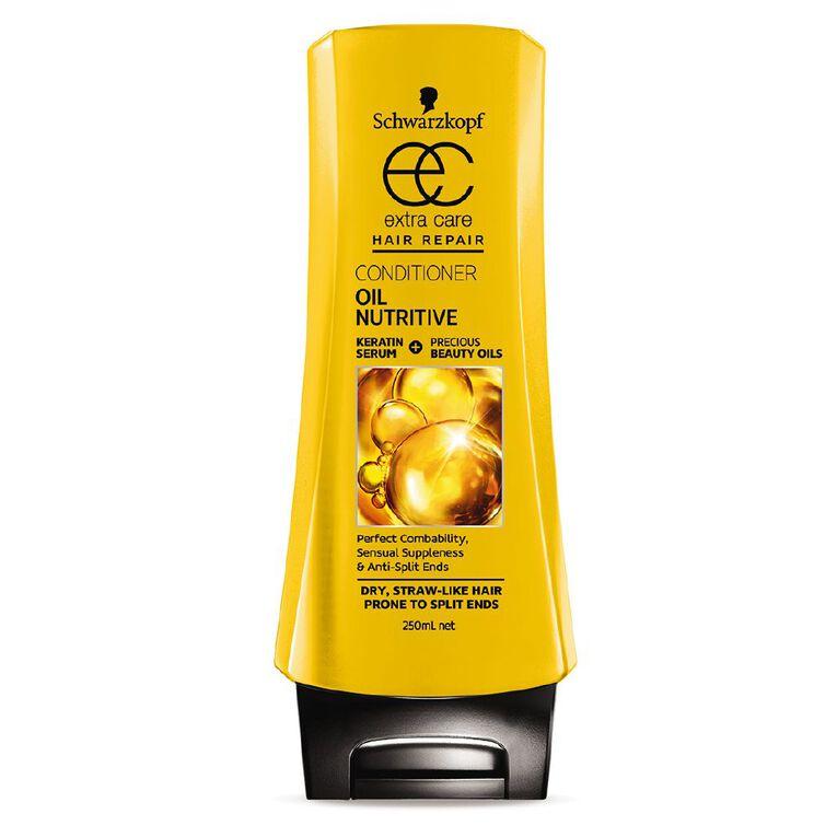Schwarzkopf Extra Care Conditioner Oil Nutritive 250ml, , hi-res