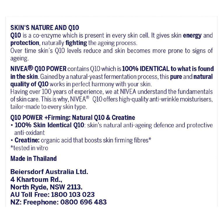 Nivea Q10 Power Anti Wrinkle SPF30+ Day Cream 50ml, , hi-res