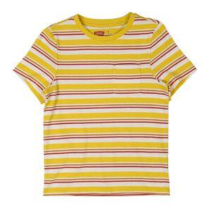 Young Original Short Sleeve Stripe Pocket Tee