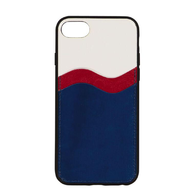 Botanic Geo iPhone 6/7/8/SE Wallet Phone Case R/W/B, , hi-res