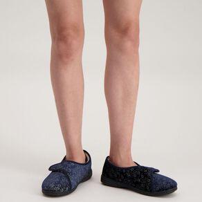 H&H Women's Strap Comfort Slippers