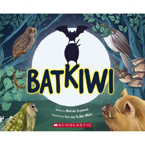 BatKiwi by Melinda Szymanik N/A