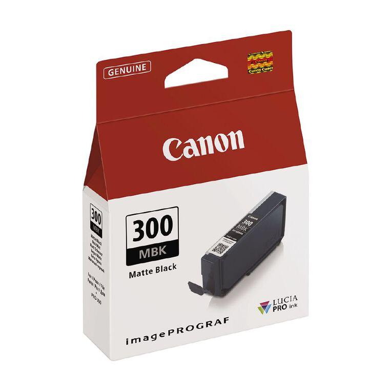 Canon Ink Lucia Pro PFI-300 Matte Black, , hi-res image number null