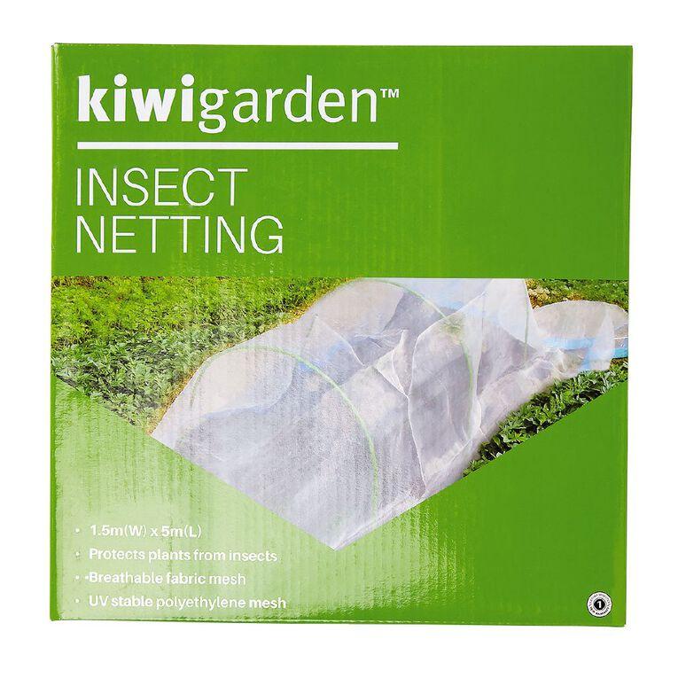 Kiwi Garden Insect Netting 1.5m x 5m, , hi-res