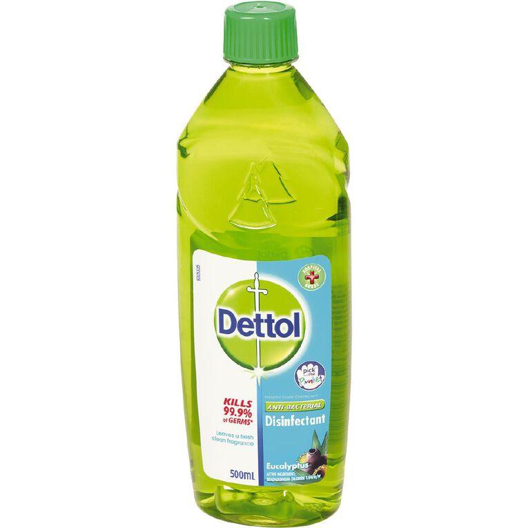 Dettol Disinfectant Liquid Eucalyptus 500ml, , hi-res
